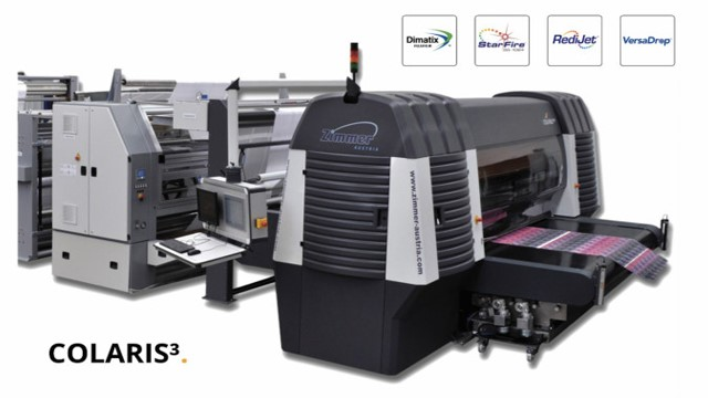 zimmer colaris imported high speed digital printing machine